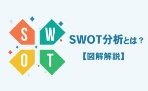 SWOT分析とは何か?分析のやり方と事例について解説【図解解説】