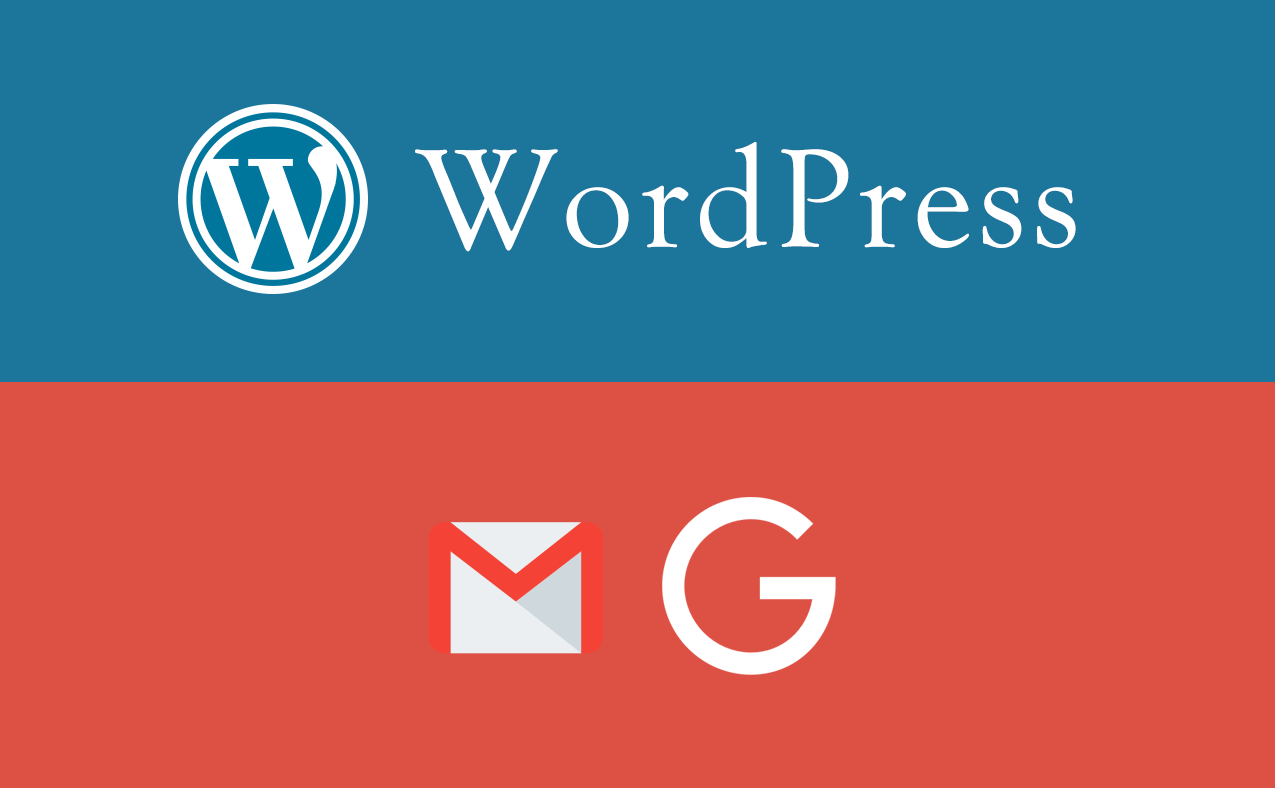 WordPress Gmail